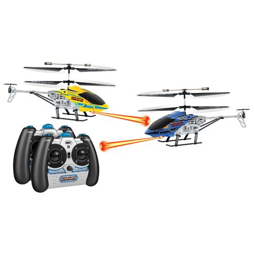 World Tech Toys Nano Battle Hercules Laser Tag RC Helicopters 2-Pack
