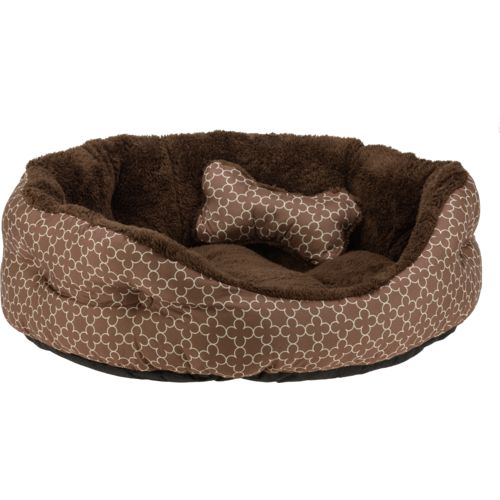 Magellan Outdoors™ Small 2-Piece Dog Bed and Plush Bone Toy Set