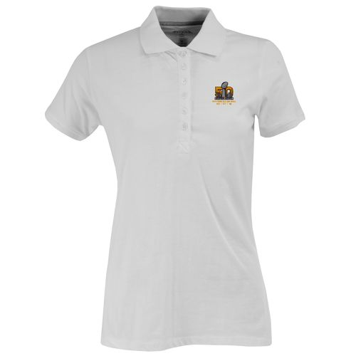 Antigua Women's NFL Super Bowl 50 Spark Polo Shirt