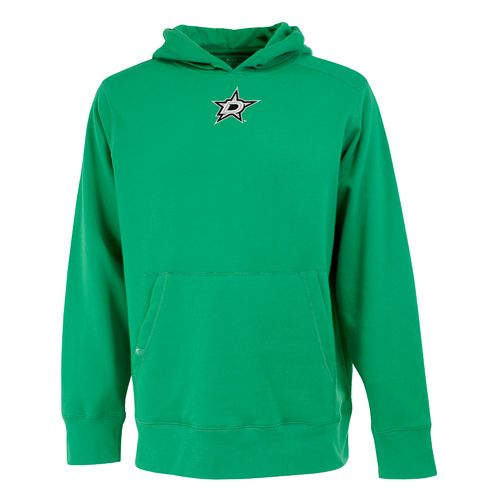 Antigua Men's Dallas Stars Signature Pullover Hoodie