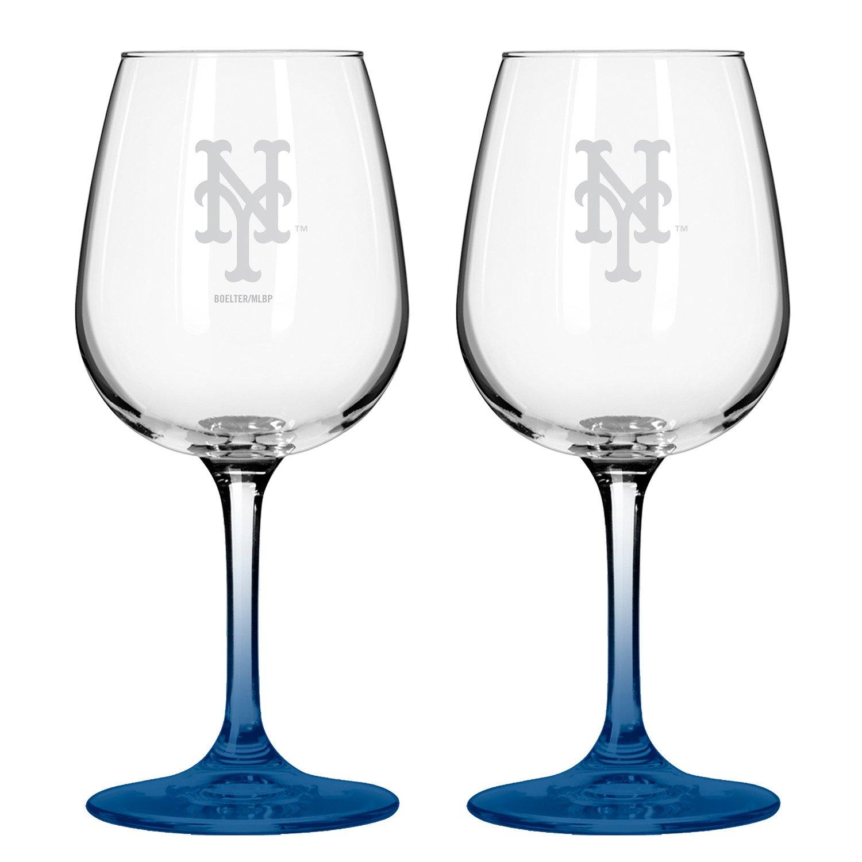 Boelter Brands New York Mets 12 oz. Wine