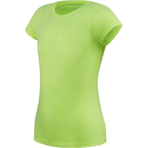 BCG™ Girls' Basic Slub Crew Neck Short Sleeve T-shirt