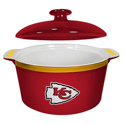 Boelter Brands Kansas City Chiefs Gametime 2.4 qt. Oven Bowl