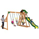 Backyard Discovery™ Prescott Wooden Swing Set