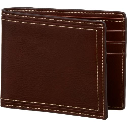 Magellan Outdoors Men's Contrast Stitch Passcase Wallet