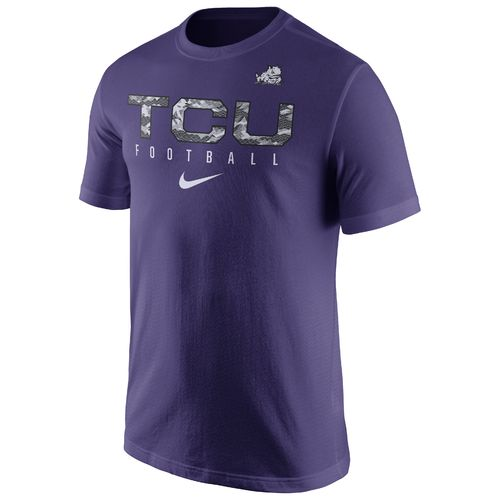 Nike™ Men's Texas Christian University Short Sleeve Practice