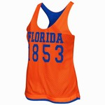 Colosseum Athletics Women's University of Florida Triple Crown Reversible Tank Top