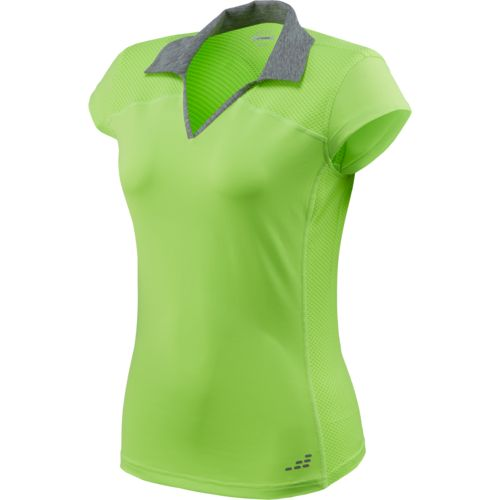 BCG™ Women's Club Sports Collared Mesh Pieced Tennis