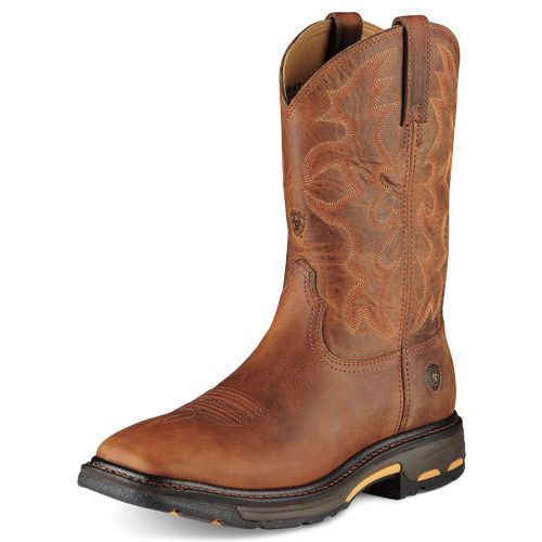 Ariat Men's Workhog Steel-Toe Western Work Boots - view number 2