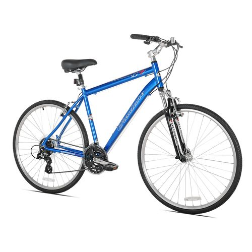 Giordano Men's G7 Large 700c 21-Speed Hybrid Bicycle