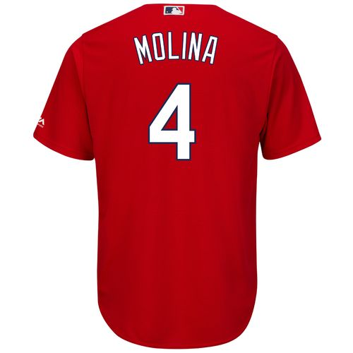 Majestic Men's St. Louis Cardinals Yadier Molina #4 Replica Jersey