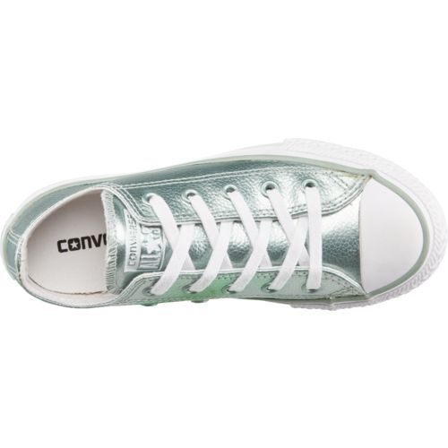 Converse Girls' Chuck Taylor All Star Stingray Metallic Low-Top Shoes - view number 4