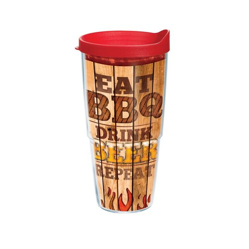Tervis BBQ, Eat, Drink, Repeat 24 oz. Tumbler