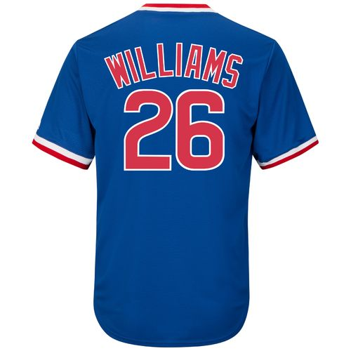 Majestic Men's Chicago Cubs Billy Williams #26 Cooperstown