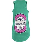 Three Squared Juniors' University of Southern Mississippi Antoinette Tank Top