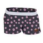 Soffe Girls' Oklahoma State University Printed Authentic Low Rise Short