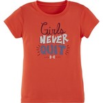 Under Armour® Girls' Girls Never Quit T-shirt