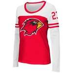 Colosseum Athletics™ Women's Lamar University Hornet Football Long Sleeve T-shirt
