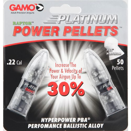 Gamo PBA Platinum .22 Air Gun Pellets 50-Pack