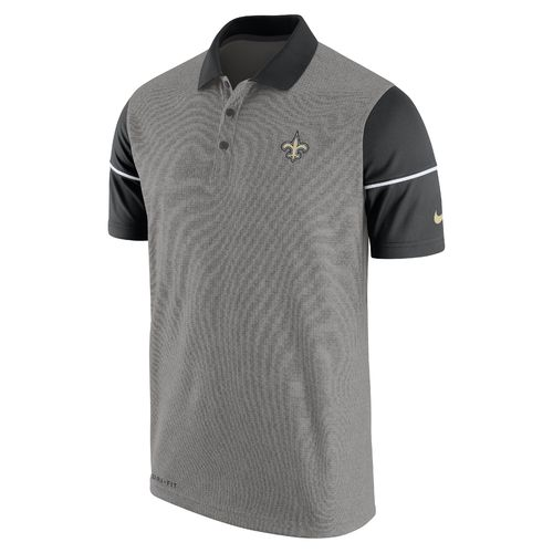 Nike Men's New Orleans Saints Sideline Polo Shirt