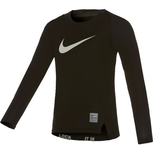 Nike Boys' Cool Compression Long Sleeve Top