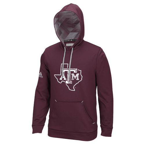 adidas™ Men's Texas A&M University Stealth Hoodie