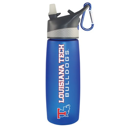 The Fanatic Group Louisiana Tech University 24 oz. Frosted Sport Water Bottle