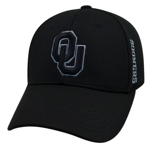 Top of the World Men's University of Oklahoma Booster Plus Tonal Cap