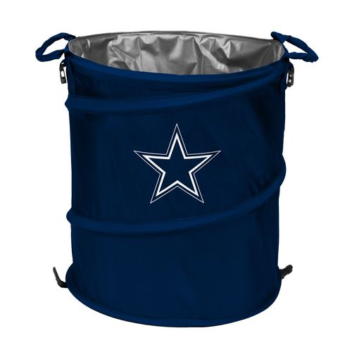 Logo™ Dallas Cowboys Collapsible 3-in-1 Cooler/Hamper/Wastebasket