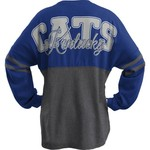 Three Squared Juniors' University of Kentucky Varsity Script Logo Sweeper T-shirt