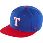 '47 Texas Rangers Boys' Lil Shot 2-Tone Captain Cap