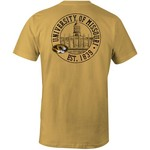 Image One Men's University of Missouri Campus Building Logo T-shirt