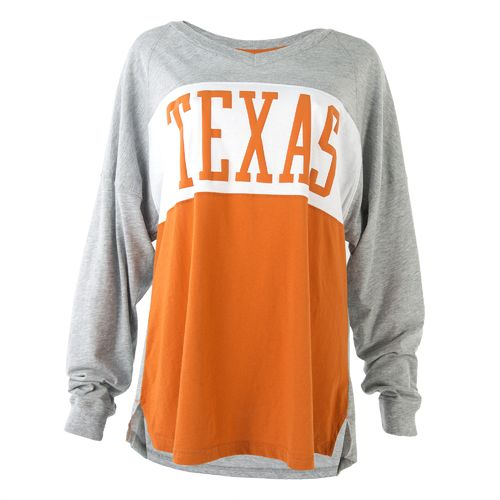We Are Texas Women's University of Texas Elite Oversize Long Sleeve T-shirt