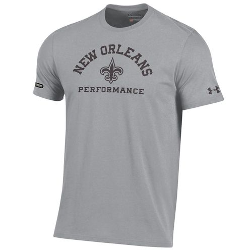 Under Armour™ NFL Combine Authentic Men's New Orleans Saints Arch Logo T-shirt