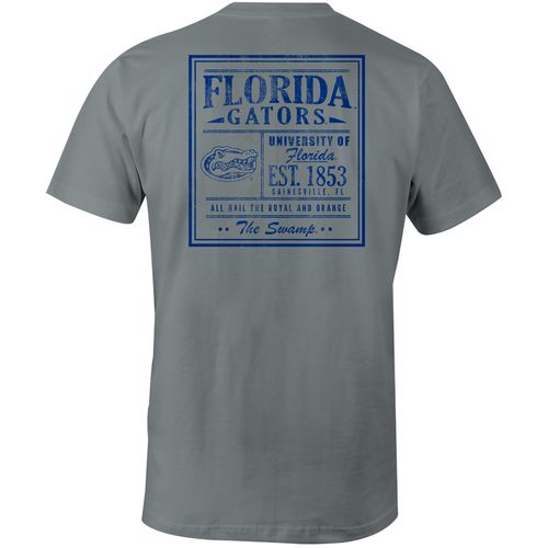 Image One Men's University of Florida Comfort Color Vintage Poster Short Sleeve T-shirt