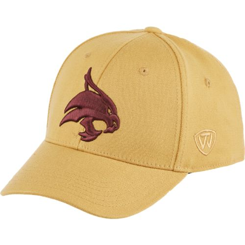 Top of the World Adults' Texas State University Premium Collection Memory Fit™ Cap