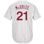 Majestic Men's Philadelphia Phillies Arnold McBride #21 Cool Base Cooperstown Jersey - view number 1