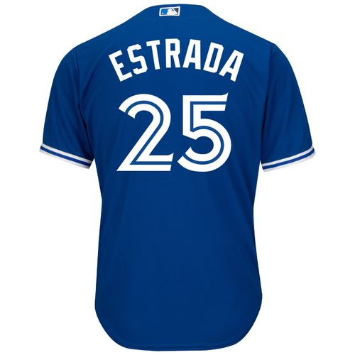 Majestic Men's Toronto Blue Jays Marco Estrada #25 Cool Base Replica Jersey - view number 2