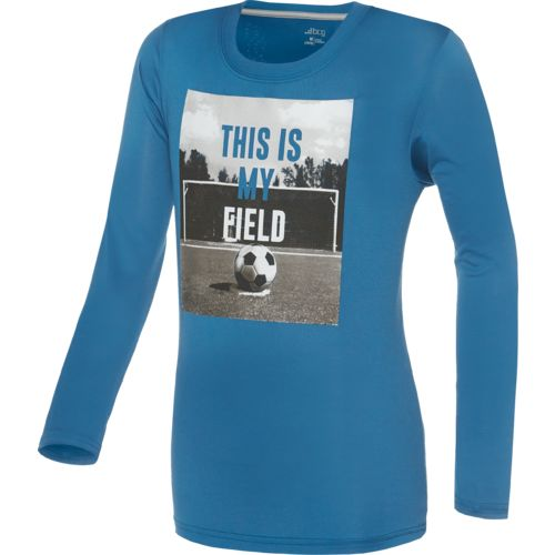 BCG™ Boys' Long Sleeve Soccer Graphic T-shirt