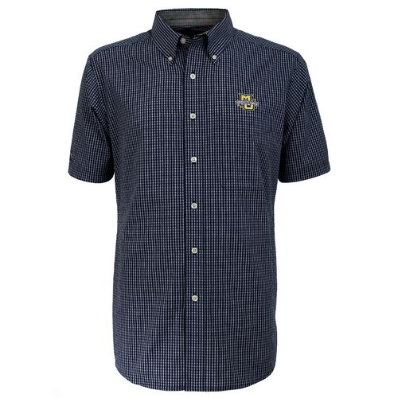 Antigua Men's Marquette University League Short Sleeve Shirt - view number 2