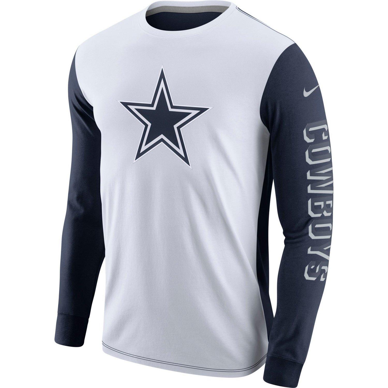 Nike Men's Dallas Cowboys Championship Drive Long Sleeve