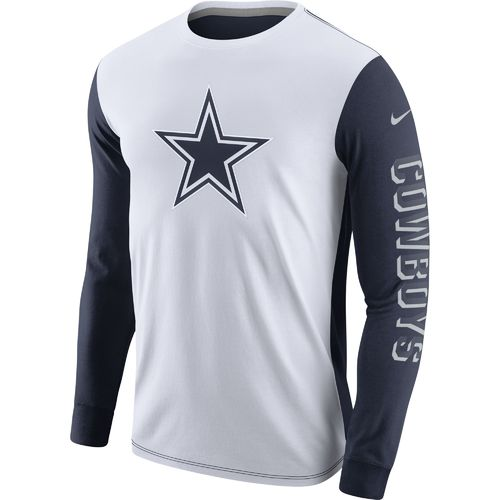 Nike Men's Dallas Cowboys Championship Drive Long Sleeve T-shirt