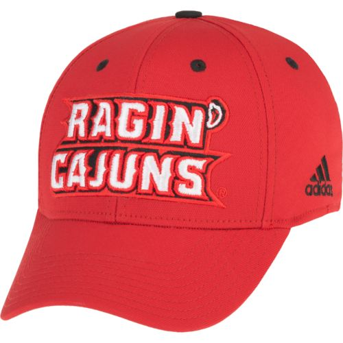 adidas™ Men's University of Louisiana at Lafayette Structured Flex Cap