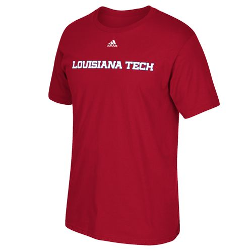 adidas Men's Louisiana Tech University Team Font T-shirt