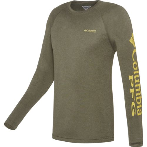 Columbia Sportswear™ Men's Terminal Tackle™ Heather Long Sleeve Shirt