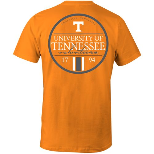 Image One Men's University of Tennessee Simple Circle Lines Comfort Color T-shirt