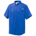 Columbia Sportswear™ Men's University of Memphis PFG Tamiami Button-Down Shirt