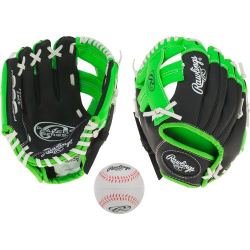 Rawlings Youth Player Basket Web 9 in Pitcher/Infield Glove Left-handed - view number 4