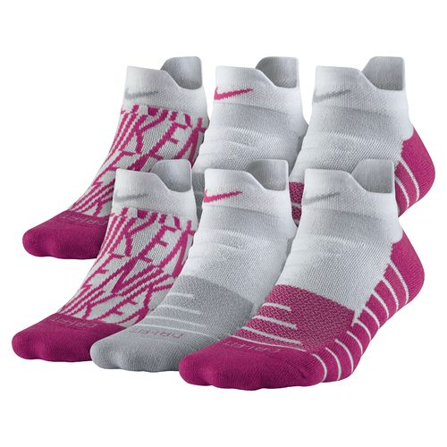 Nike Women's Dry Cushion GFX Low Training Socks - view number 1
