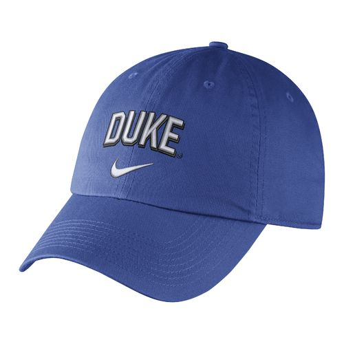 Nike Men's Duke University Heritage86 Wordmark Swoosh Flex Cap